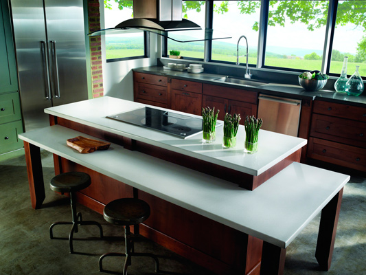 Countertops With Recycled Materials!