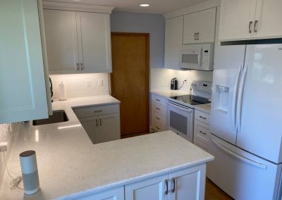 Professional kitchen remodel starts with the countertop